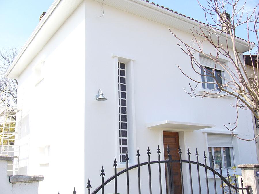 Rénovation extérieure d'une maison à Gradignan