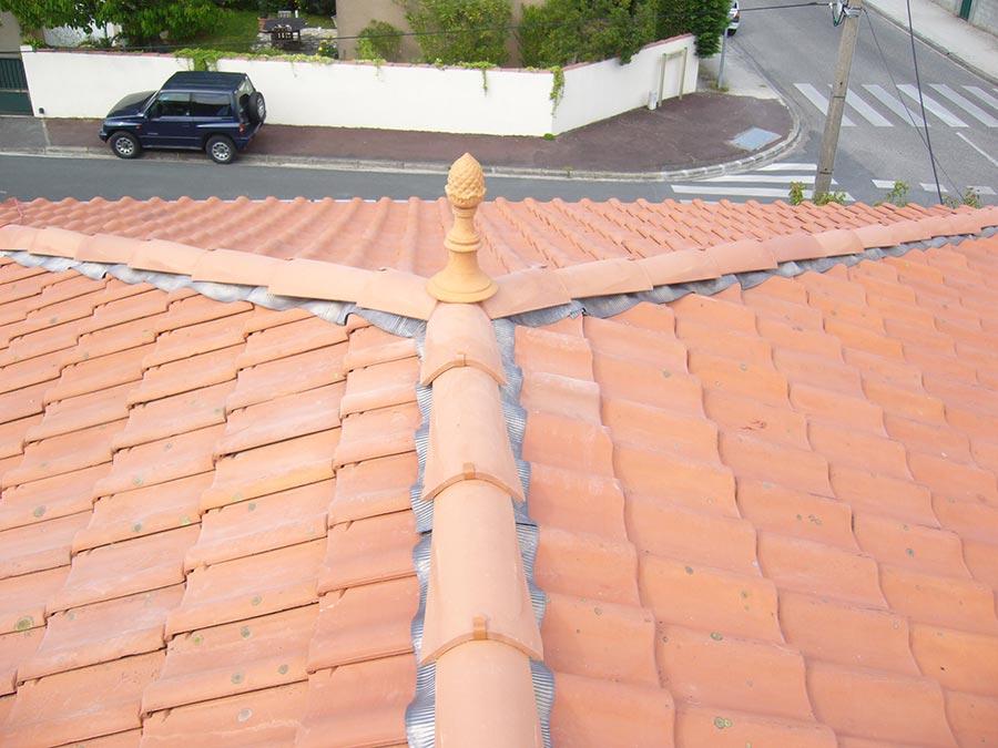 Traitement de toiture à Gradignan